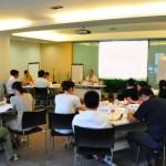 品牌与互联网营销专家刘杰克老师做客杭州优耐德电梯公司讲授企业战略管理规划与品牌建设课程