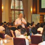 品牌与网络营销专家刘杰克老师应邀为四川成都企业家做移动互联网时代的微营销实战策略课程