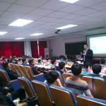 刘杰克老师为北京大学汇丰商学院市场营销总监班讲授社会化微营销课程