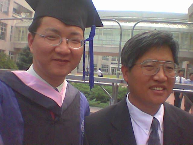 刘杰克老师与张维迎老师在一起