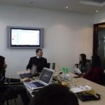 刘杰克老师在营销经理人沙龙上做讲座