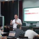 刘杰克老师应邀为宁波汽车行业营销总监讲授《网络营销实战》课程