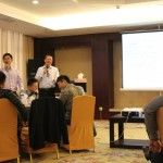 刘杰克老师应邀为恒安集团讲授《整合营销传播》课程