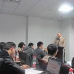 刘杰克老师应邀为成都企业家讲授网络营销课程
